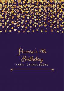 Dấu ấn đặc biệt sinh nhật Hamsa